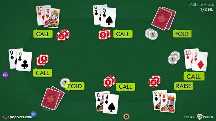 قوانین پوکر پنج کارتی