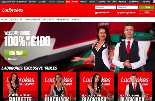 آدرس جدید سایت Ladbrokes