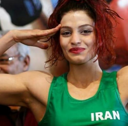 مقام های بهترین بوکسور زن ایرانی