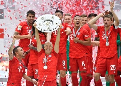 برد تیم Bayern Munich در درکلاسیکر