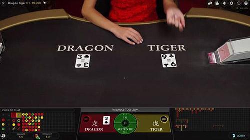 قوانین بازی Dragon Tiger چیست؟